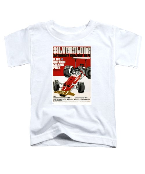 Silverstone Grand Prix 1969 Toddler T-Shirt