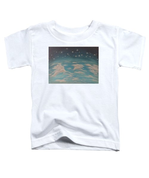 Sitting On Top Of The World Toddler T-Shirt