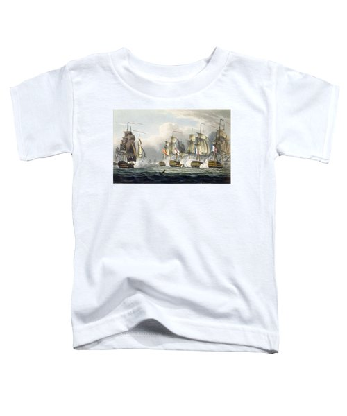 Situation Of The Hms Bellerophon Toddler T-Shirt