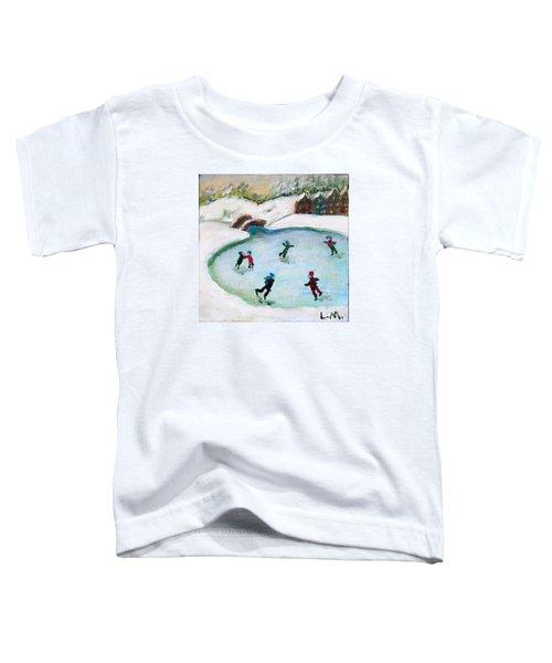 Skating Pond Toddler T-Shirt