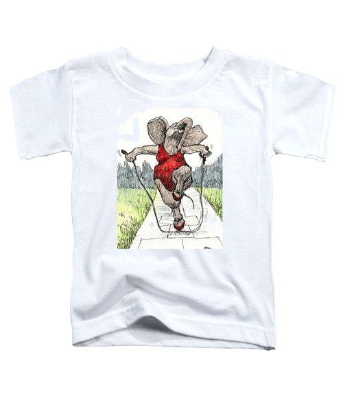 Skipping Rope Toddler T-Shirt