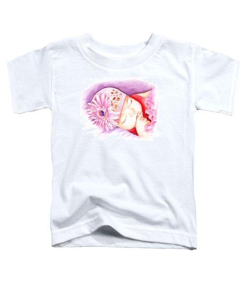 Sleeping Baby Toddler T-Shirt