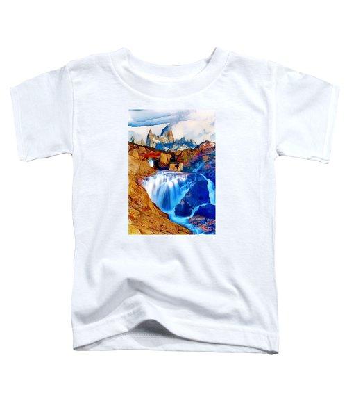 Smokey Mountain View Toddler T-Shirt