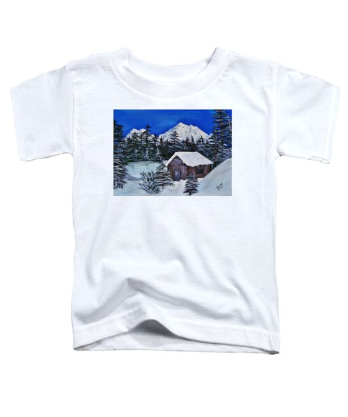 Snow Falling On Cedars Toddler T-Shirt