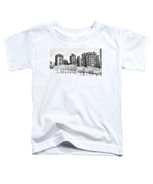 Snow In The City Toddler T-Shirt