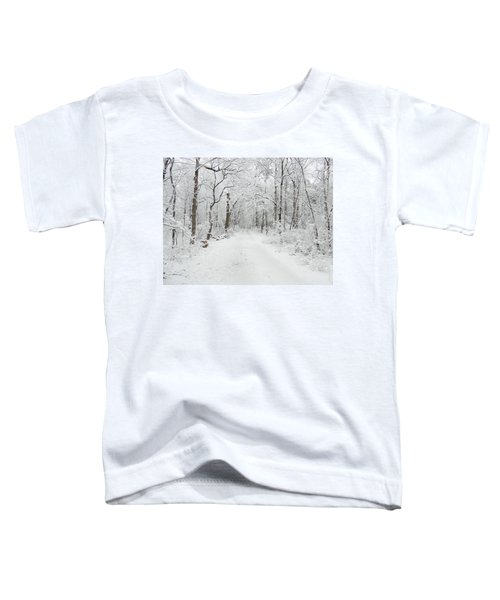 Snow In The Park Toddler T-Shirt