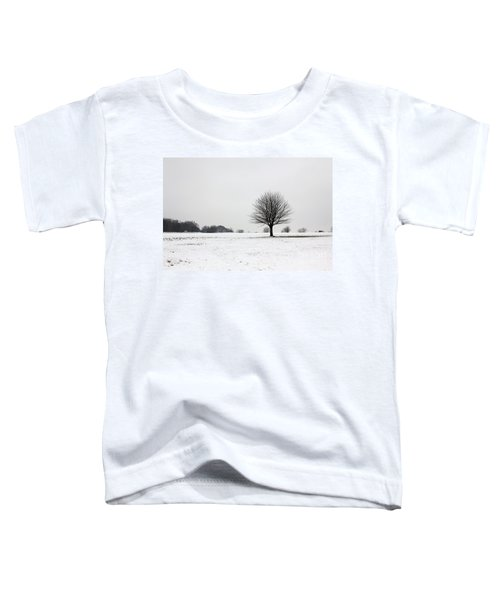 Snow On Epsom Downs Surrey England Uk Toddler T-Shirt