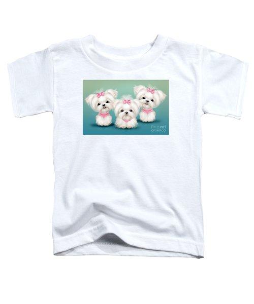 Snowflakes  Toddler T-Shirt