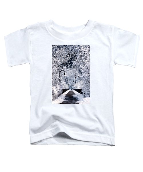 Snowy Bridge Toddler T-Shirt