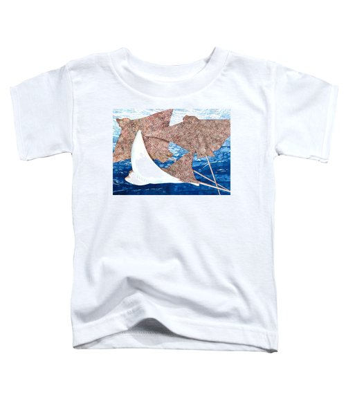 Soaring Eagle Rays Toddler T-Shirt