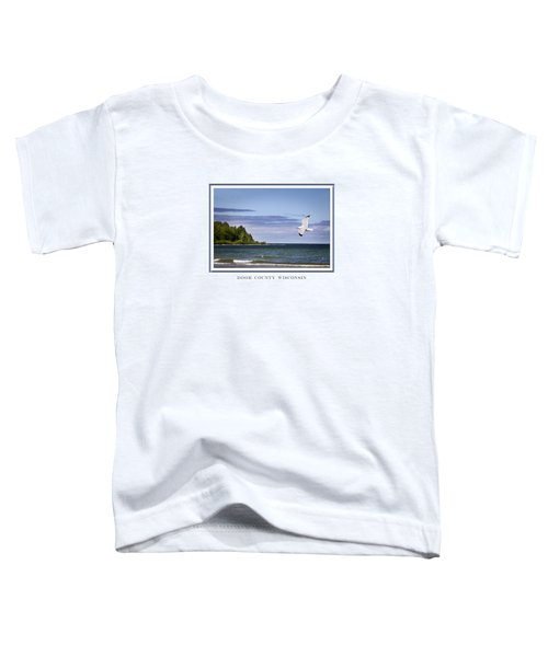 Soaring Over Door County Toddler T-Shirt