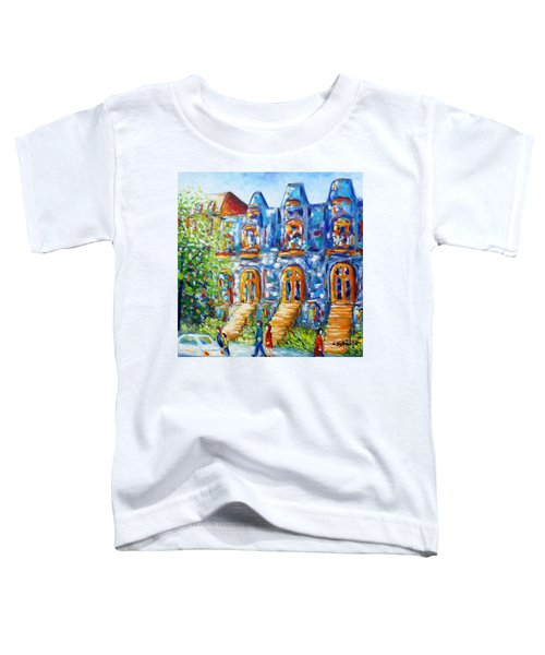 Somewhere In Montreal - Cityscape Toddler T-Shirt