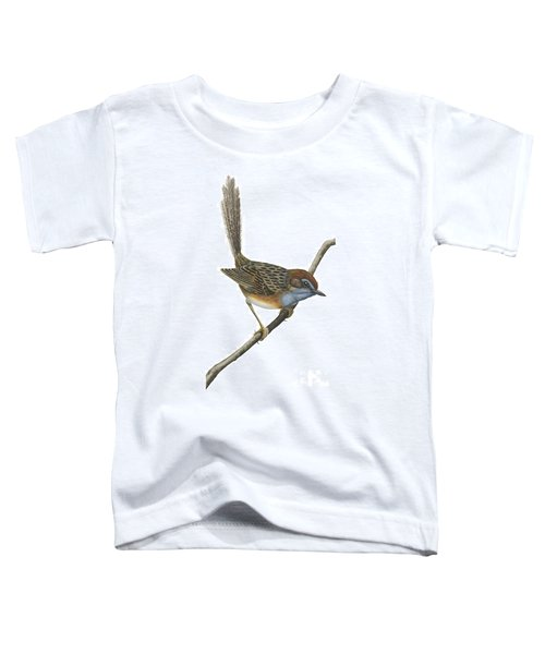Southern Emu Wren Toddler T-Shirt by Anonymous