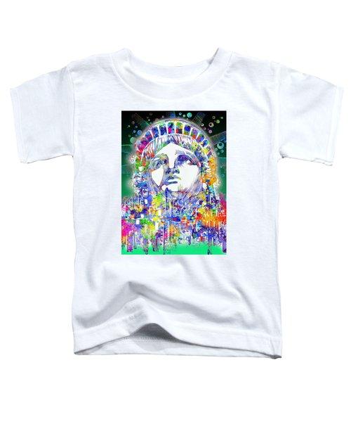 Spirit Of The City 4 Toddler T-Shirt