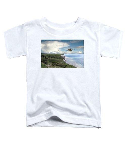 Spitfires Over Dover  Toddler T-Shirt