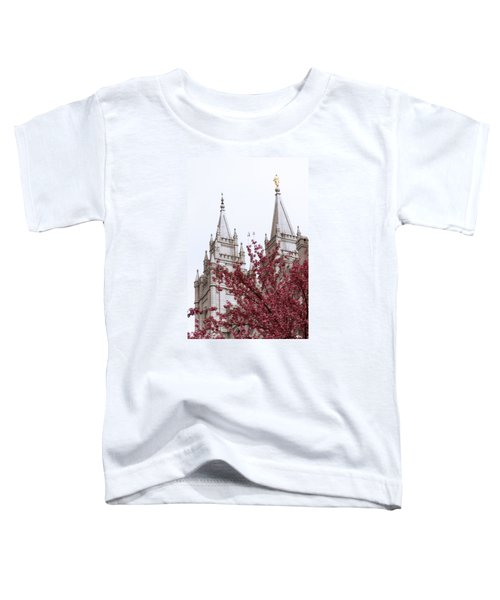 Spring At The Temple Toddler T-Shirt