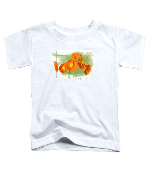 Spring Poppy Toddler T-Shirt