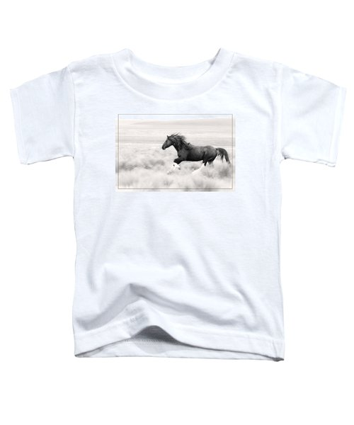Stallion Blur Toddler T-Shirt