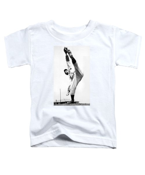 Star Pitcher Van Lingo Mungo Toddler T-Shirt