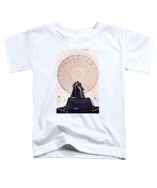 Statue Of Thomas Jefferson Toddler T-Shirt by Panoramic Images