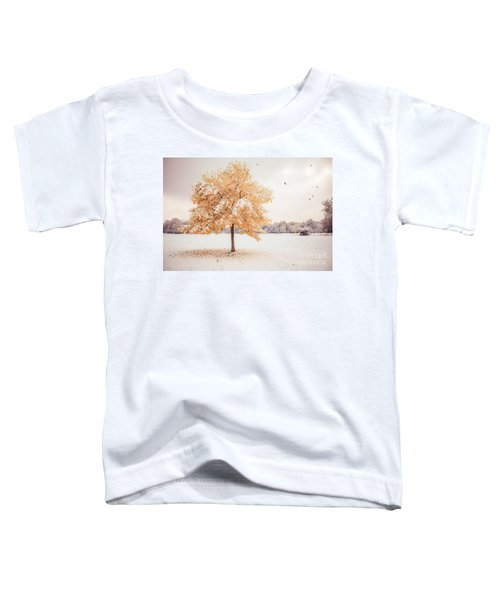 Still Dressed In Fall Toddler T-Shirt