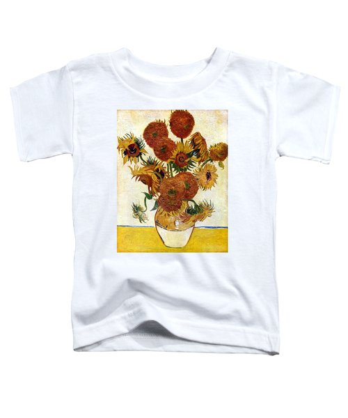 Still Life With Sunflowers Toddler T-Shirt