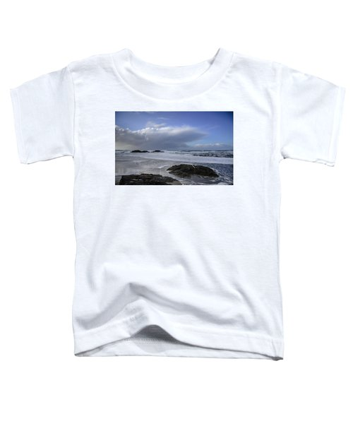 Storm Rolling In Wickaninnish Beach Toddler T-Shirt