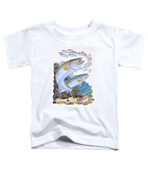Striped Bass Rocks Toddler T-Shirt
