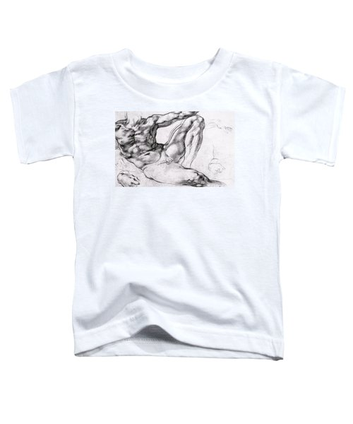 Study For The Creation Of Adam Toddler T-Shirt
