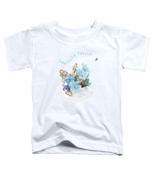 Sugar Paste Pansies Toddler T-Shirt