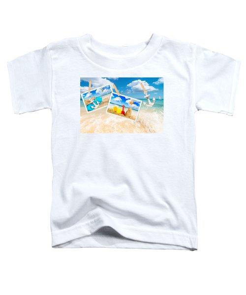 Summer Postcards Toddler T-Shirt