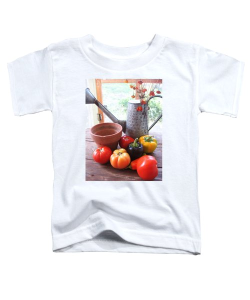 Summer's Bounty   Toddler T-Shirt