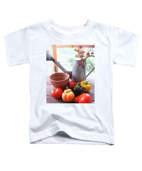 Summer's Bounty   Toddler T-Shirt