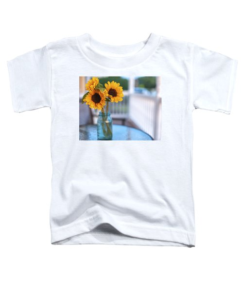 Sunflowers On The Porch Toddler T-Shirt