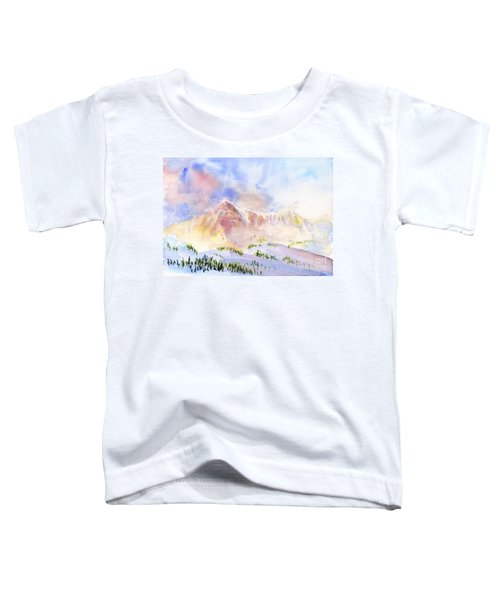 Sunrise On Mount Ogden Toddler T-Shirt