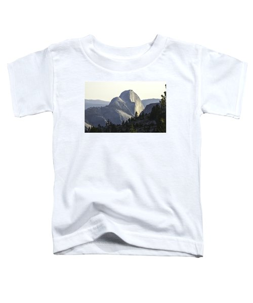Sunset At Half Dome From Olmsted Pt Toddler T-Shirt