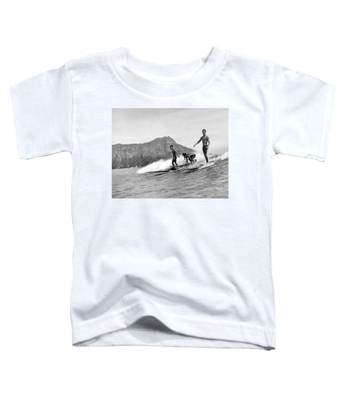 Surfing In Honolulu Toddler T-Shirt