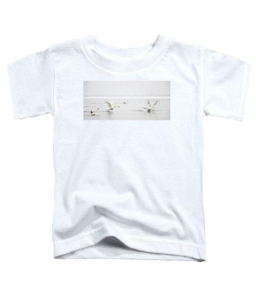 Swan Fight Toddler T-Shirt