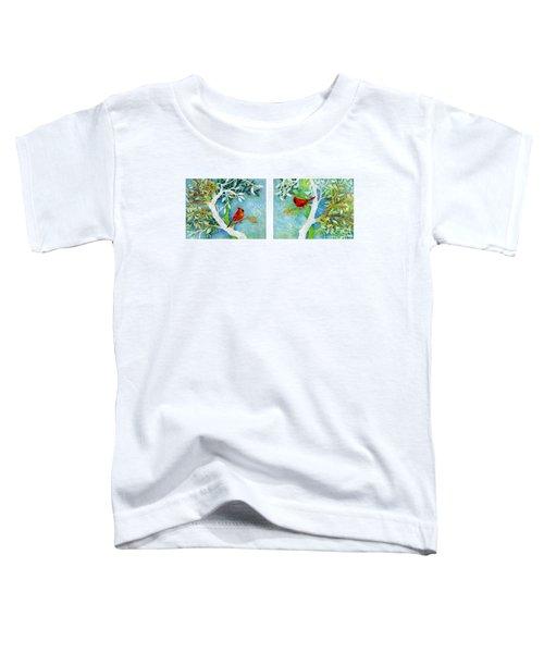 Sweet Memories Diptych Toddler T-Shirt