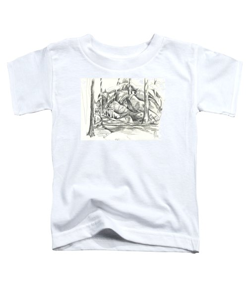 Swirling Cast Shadows At Elephant Rocks  No Ctc101 Toddler T-Shirt