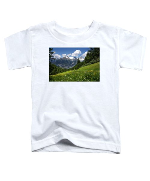 Switzerland Bietschhorn Toddler T-Shirt