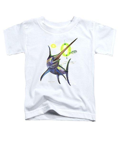 Swordfishing Toddler T-Shirt