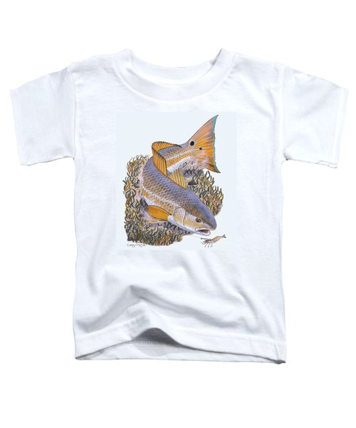 Tailing Redfish Toddler T-Shirt