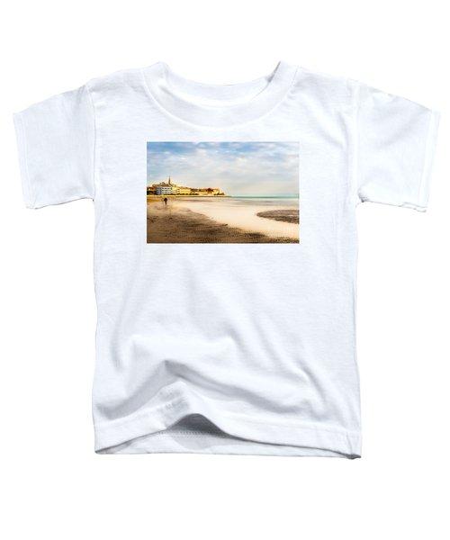 Take A Walk At The Beach Toddler T-Shirt
