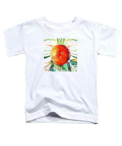 Tangerine Orb Nouveau Toddler T-Shirt