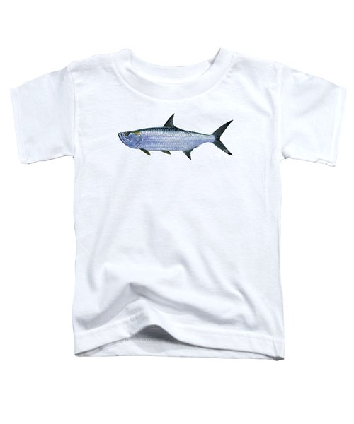 Tarpon Toddler T-Shirt by Carey Chen