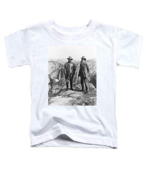 Teddy Roosevelt And John Muir Toddler T-Shirt