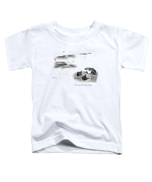 Tell Us Again About Monet Toddler T-Shirt