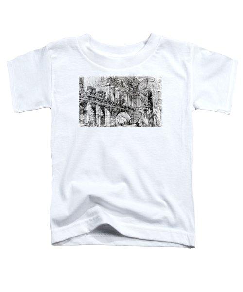 Temple Courtyard Toddler T-Shirt