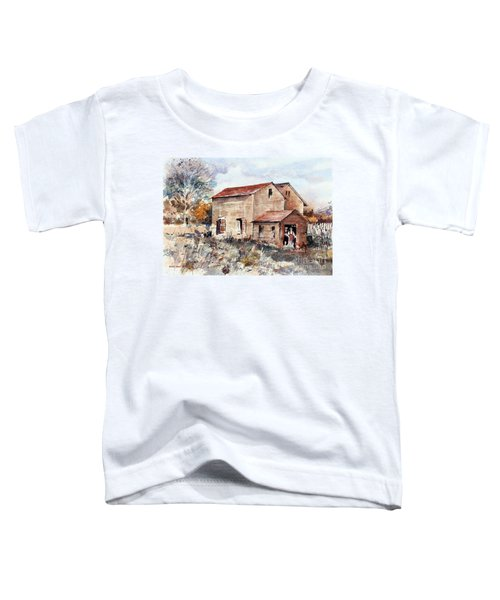 Texas Barn Toddler T-Shirt